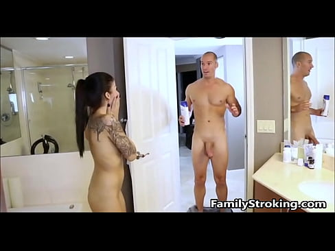Teen Daughter Sees Step Brothers Cock For First Time – FamilyStroking.com