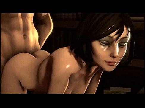 Элизабет из биошок инфинити порно видео