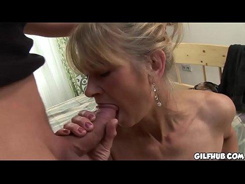 amateur gilf anal porn