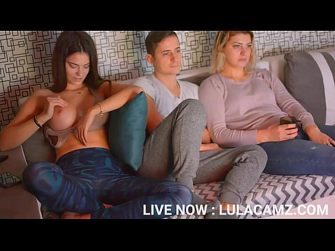 Girl Masturbates Next To Flatmate While Girlfriend Isn't Looking #2 | LIVE NOW : LULACAMZ.COM