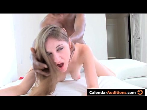 Teen Gets Tight Pussy Filled At First Porn Casting