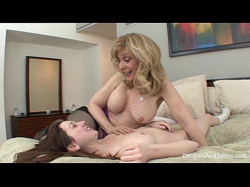 MILF Slut Fucks A Preggo Teen
