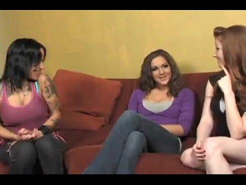 seducing girl Lesbian straight