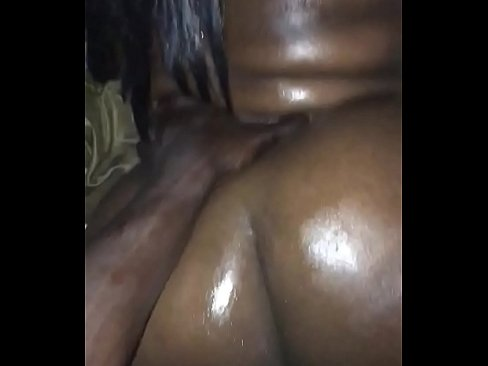 Slim Ebony Teen Backshots