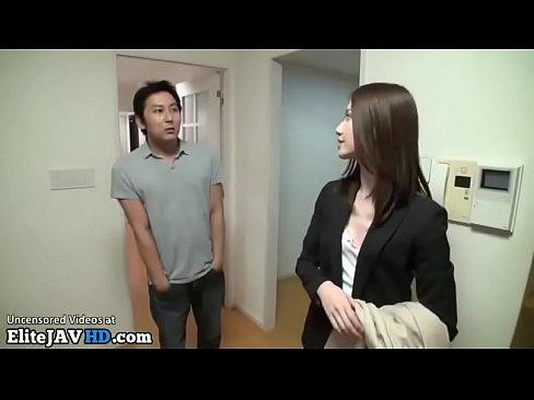 Japanese blackmailed receptionist videos zorras