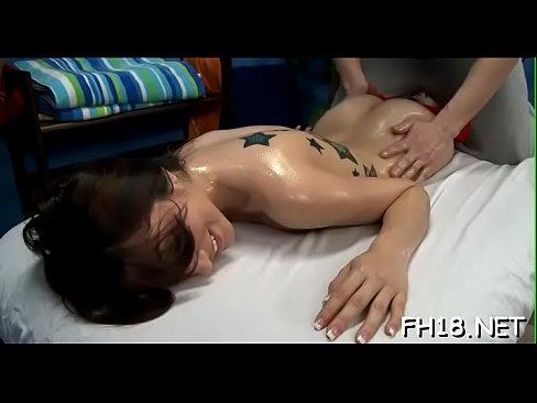 hawt 18 year old brunette slut gets drilled hard by her massage therapist!