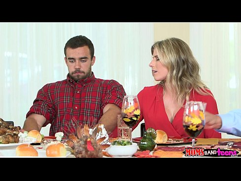 Moms Bang Teen – Naughty Family Thanksgiving