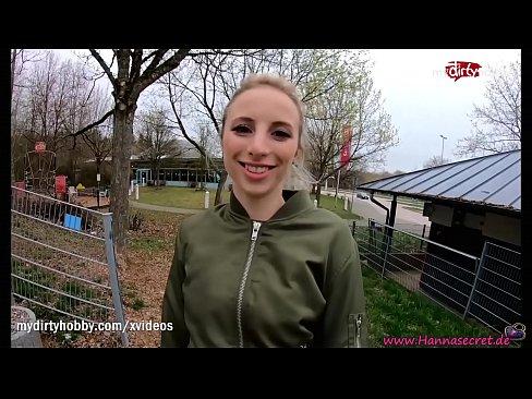MyDirtyHobby - Adventurous blonde teen risky public creampie