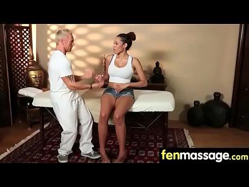 Babe Hottie Fires Fantasy Massage 4