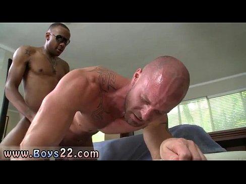 Gay sex in the locker room