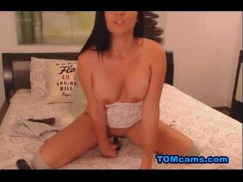 Dildo homemade masturbate