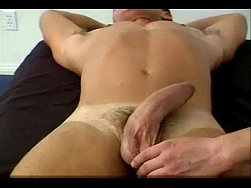 Massage big cock video