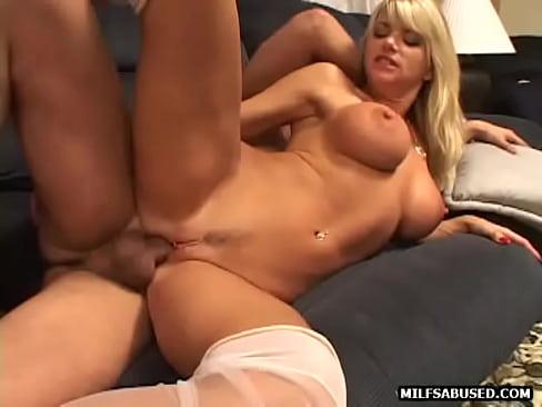 Fucked Blonde babe
