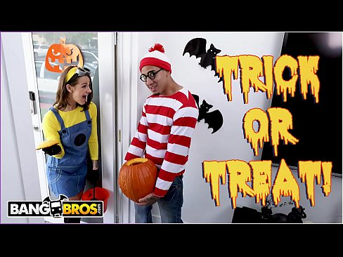 Trick Or Treat Smell Evelin Stone's Feet Bruno Gives Her Something Good To Eat