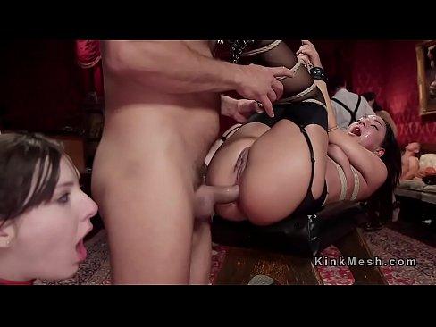 Slave upper floor anal