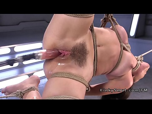 Fuck Machine Squirt Bondage