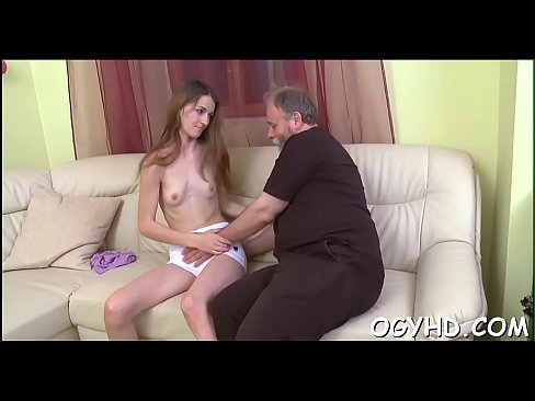 Cute young angel fucked by old guy's Thumb