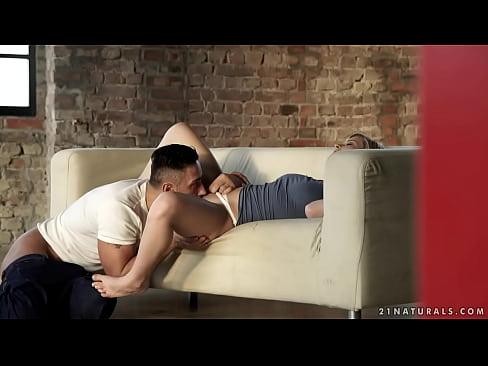 Hot blonde Mikki Galante passionate sex
