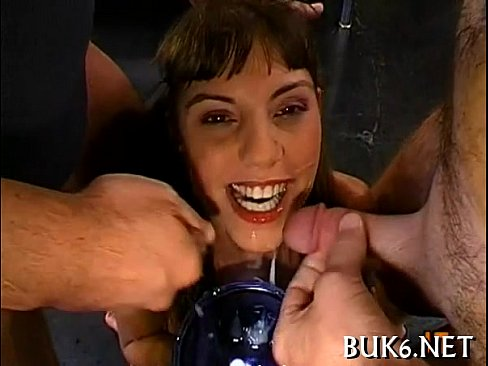 Rowdy and wild blow gangbang
