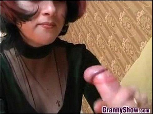 stockings granny Sexy