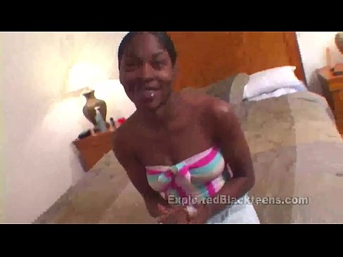Tiny Girl in Amateur Ebony Movie