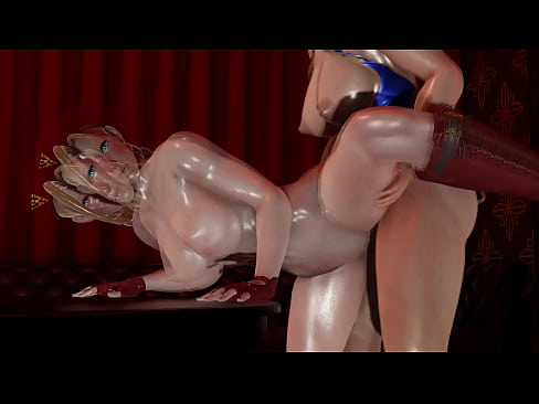 Futa - Street Fighter - Cammy gets creampied by Chun Li - 3D Porn