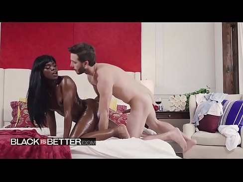 Black is Better - (Ana Foxxx, Lucas Frost) - Cum Running - BABES