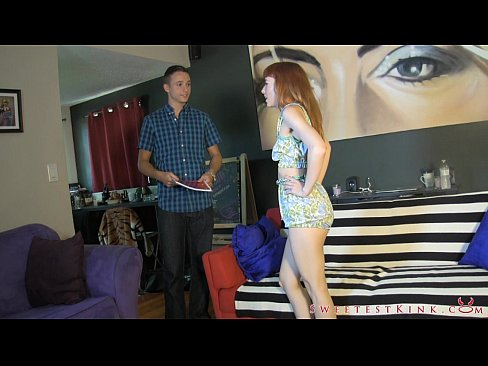 Lizzy Lamb Punishes Salesman Tristan Sweet FEMDOM WEDGIESXXX Sex Videos 3gp