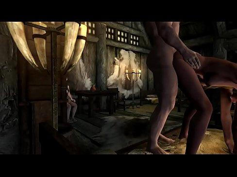 Порно про скайрим