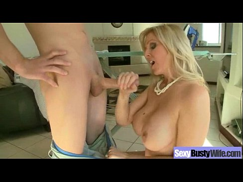 Sexy Wild Wife With Big Juggs Enjoy Sex On Tape clip-14