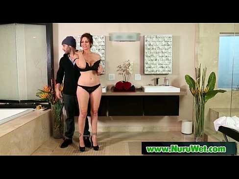 NuruMassage Son Fully Serviced by Step-Mom Sex Video 31