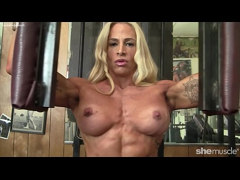 Sexy nude catwalk