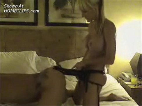 Mf anal blow strap on