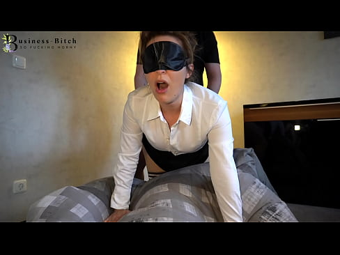 hot office clerk in stockings used for blowjob and frontal sex with cum shot in her face - business-bitch