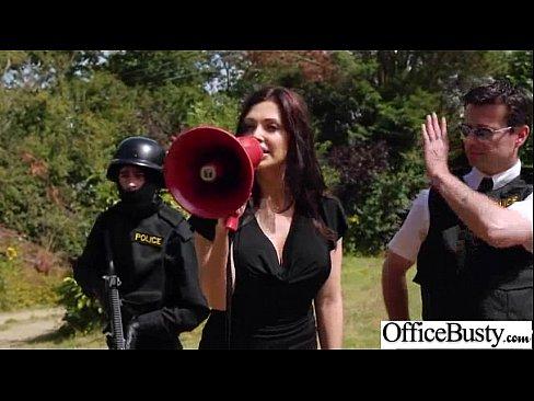 Busty Girl Fucks Hardcore In Office (aletta ocean) clip-02