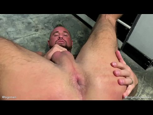 Super Star Michael Roman & Big C Epic After Hours Laundromat Fuck