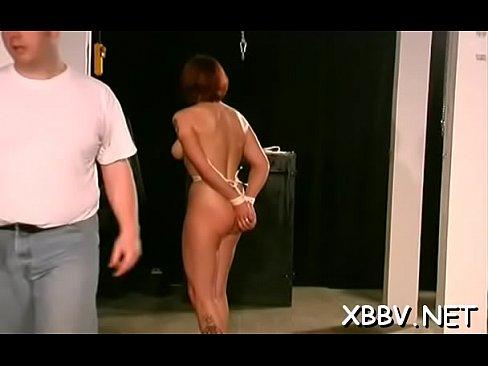 Marital-device Porn In Bondage Video