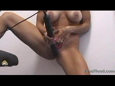 Masturbating to Pulsing Hot squirting Orgasms Standing Up