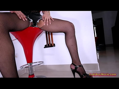 Ladyboy Paeng Gives Frotage And Blowjob Before The Ass Fucking