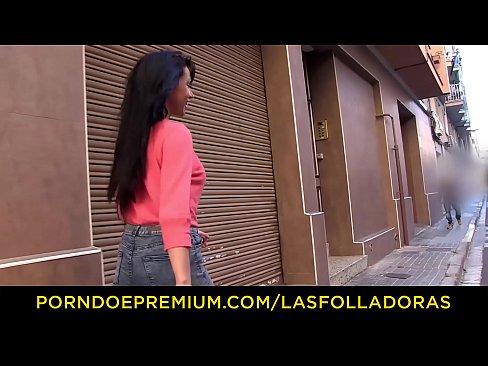 LAS FOLLADORAS – Spanish MILF pornstar Suhaila Hard seduces amateur guy and fucks him hardXXX Sex Videos 3gp