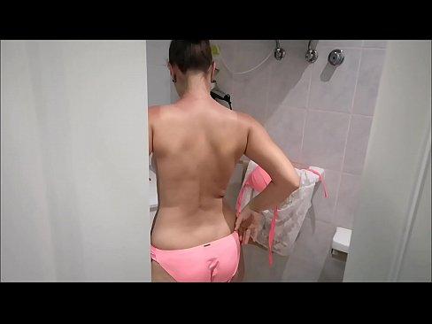 amateur slut fucked by hotel pool