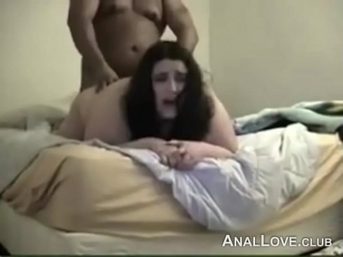 Hot amateur wife on a huge cock