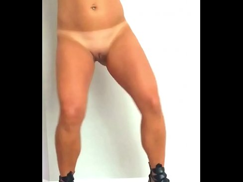 mike's wife dancing completely naked in heels full frontal