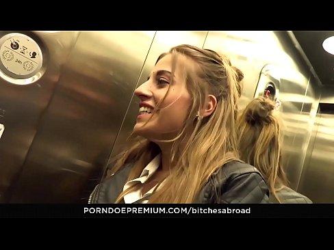 BITCHES ABROAD – Tourist babe Silvia Dellai drilled by local stud