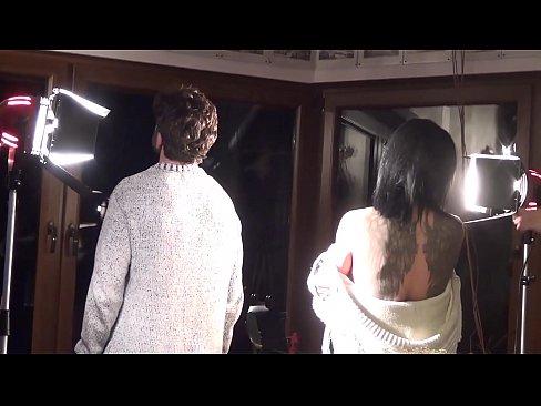 "ANDY CASANOVA - Backstage from the set of ""La Femme Fatale"" (Giulia Lagherta)"