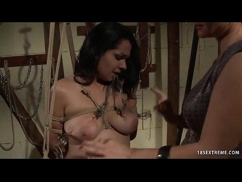 Laura Bondaged and Fucked with Strapon