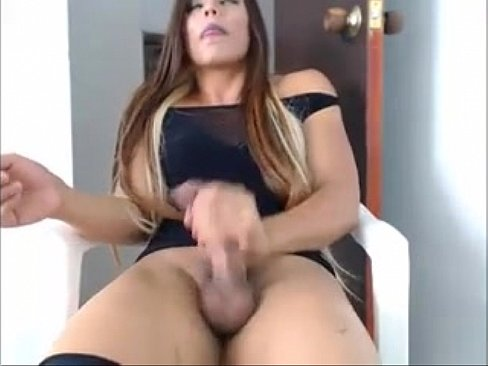 she male masturbation free
