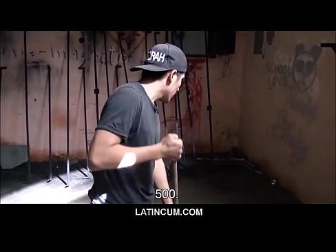 Amateur Spanish Latino Maintenance Guy Paid Cash For Fuck