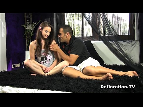 Defloration french teen