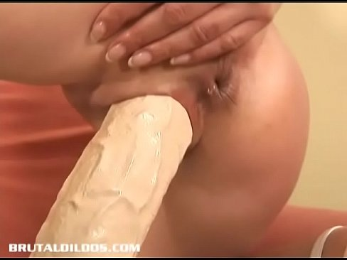 by Pussy dildo pounded sawsall